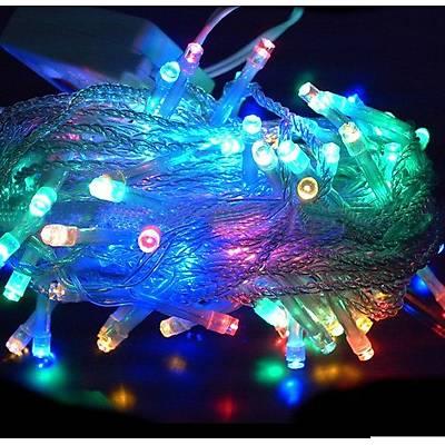 8 Fonksiyonlu 100 LED 10m Dekoratif Aydýnlatma