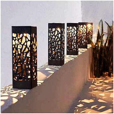 Yürüyüþ Yolu Dekoratif Solar Bahçe Aydýnlatma 8 Li