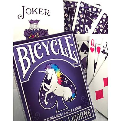 Bicycle Unicorn Licorne Premium Oyun Destesi