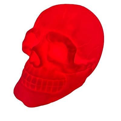 Dokunmatik Renk Deðiþtiren Kuru Kafa - Skull Light