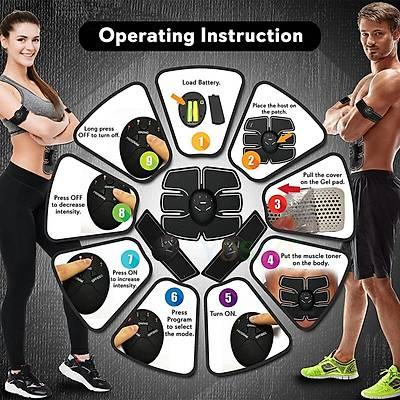 Smart Fitness EMS Six Packs 5 li Set