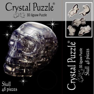 3D Crystal Puzzle Skull - 3 Boyutlu Kuru Kafa