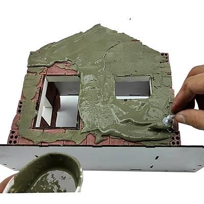 Gerçek Tuðla Minyatür Ev Seti