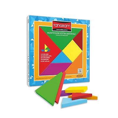 Tangram - Montessori Eğitim Materyali