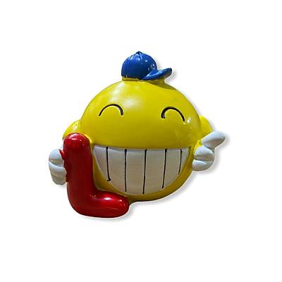Dekoratif Emoji Love Biblolar