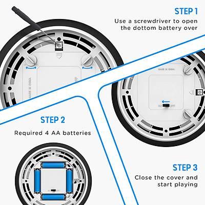 Air Power Soccer Disc - Kayan Disk Top