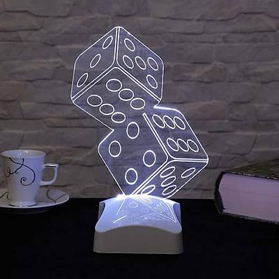 3D Dekoratif Lambalar