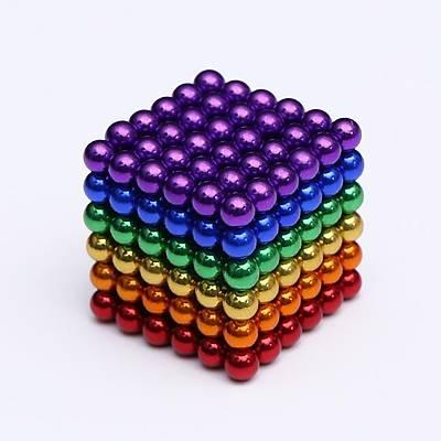 Neodymium Manyetik Küreler  5mm - Cube Magnets -Süper Mýknatýs