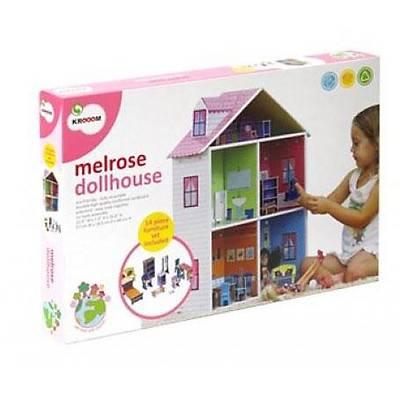 Krooom Bebek Oyun Evi - Baby Mellrose Doll House