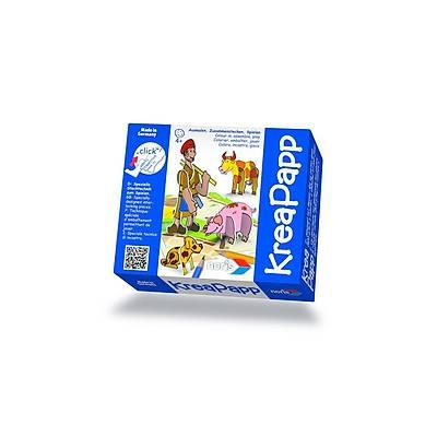 KreaPapp 3D Puzzle Çiftçi