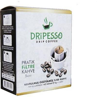 Dripesso Pratik Filtre kahve 5 Adet