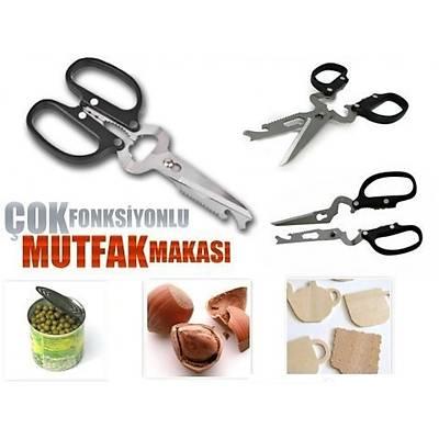 Pratik Çok Fonksiyonlu Makas -  Multifunctional Kitchen Scissors