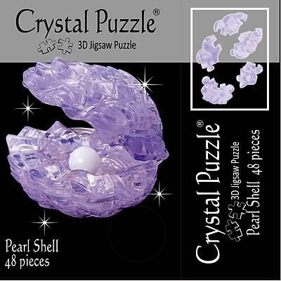 3D Crystal Puzzle Pearl Shell - 3 Boyutlu Kýrmýzý Ýstiridye ve Ýnci Puzzle