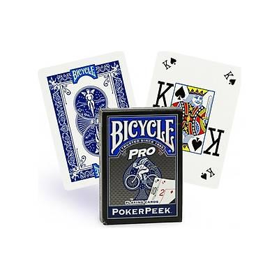 Bicycle Poker Peek Pro Mavi