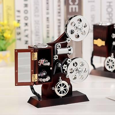 Retro Film Makinesi Müzik Kutusu