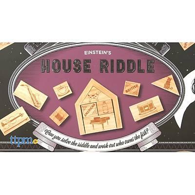 Einstein's House Riddle