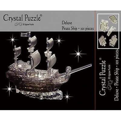 3D Crystal Puzzle Pirate Ship - 3 Boyutlu Korsan Gemisi
