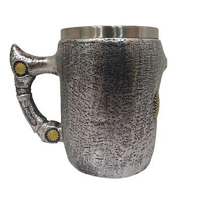 Mekanik Kuru Kafa Kupa - Skull Mug