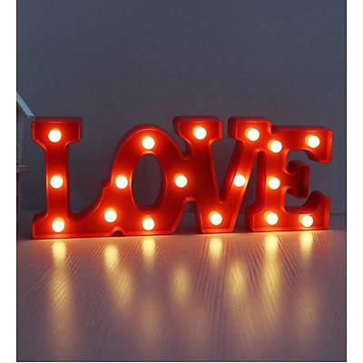 Love Dekoratif Led Lamba
