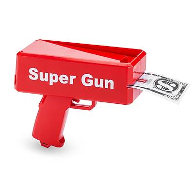 Super Money Gun - Para Saçma Tabancasý
