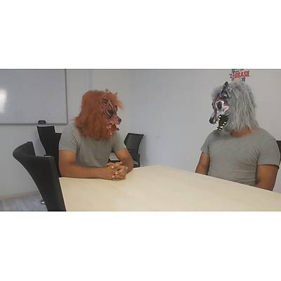 Kurt Adam Maskesi - Wolf Man Mask