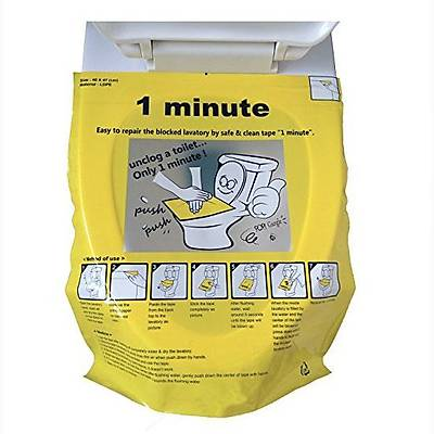 Unclog Toilet - Tuvalet Açıcı Sticker