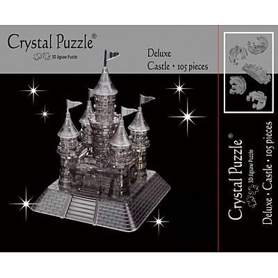 3D Crystal Puzzle Black Castle- 3 Boyutlu Siyah Þato Puzzle