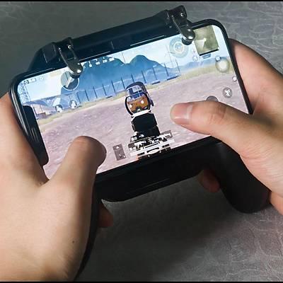 PUBG Fanlı Oyun Denetleyicisi SR 2000 mAH Joystick Ateşleyici Tetik