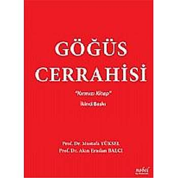 Göðüs Cerrahisi Mustafa Yüksel Kýrmýzý Kitap