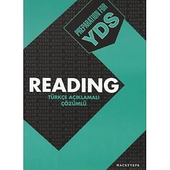 Hacettepe Taþ Preparation For YDS Reading