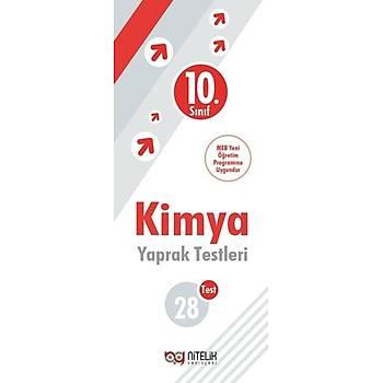 Nitelik Yayýnlarý 10. Sýnýf Kimya 28 Yaprak Test