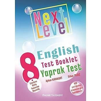 Palme 8. Sýnýf Next Level English Test Booklet Yaprak Test