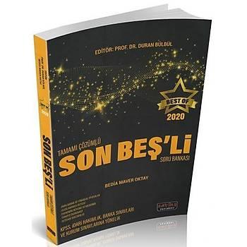 BEST OF Tamamý Çözümlü Son Beþli Soru Bakasý