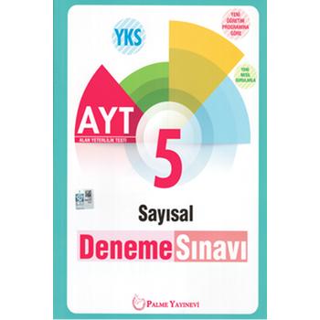 Palme Yayýnevi  YKS AYT SAYISAL 5 DENEME SINAVI