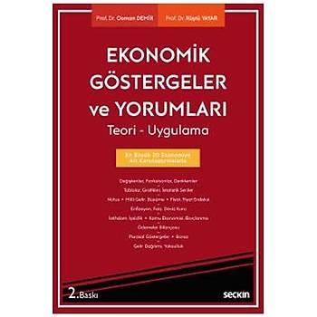 Seçkin Yayýnlarý Ekonomik Göstergeler ve Yorumlarý Rüþtü Yayar, Osman Demir