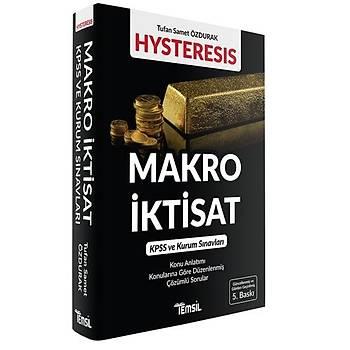 HYSTERESIS Makro Ýktisat Tufan Samet Özdurak Temsil Kitap
