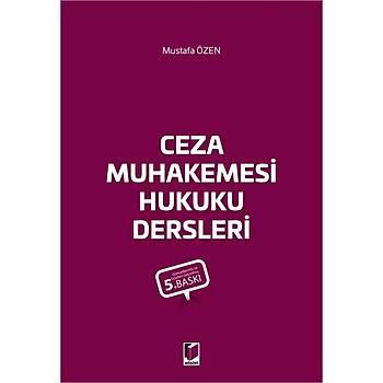 Adalet Yayýnevi Ceza Muhakemesi Hukuku Dersleri Mustafa Özen