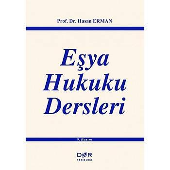 Der Yayýnevi Eþya Hukuku Dersleri Hasan Erman