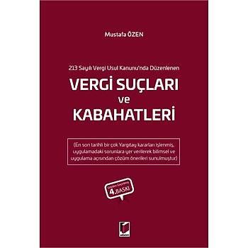 Adalet Yayýnevi Vergi Suçlarý ve Kabahatleri Mustafa Özen