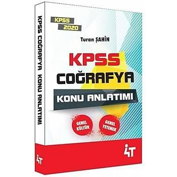 4T Yayýnlarý 2020 KPSS Coðrafya Konu Anlatýmý