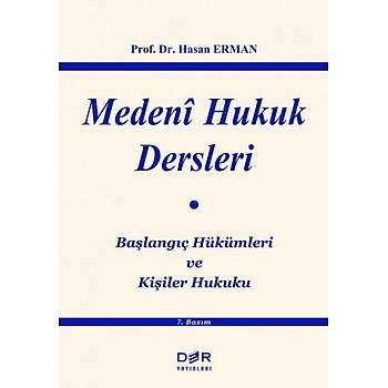Der Yayýnevi Medeni Hukuk Dersleri Hasan Erman