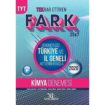 Yayýn Denizi TYT Kimya Fark Tekrar Ettiren 25 x 7 Denemesi Kubilay Kaptan, Aziz Türkdoðan Yayýn Denizi