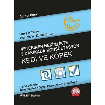 Ankara Nobel Týp Kitabevi Veteriner Hekimlikte 5 Dakikada Konsültasyon Köpek ve Kedi