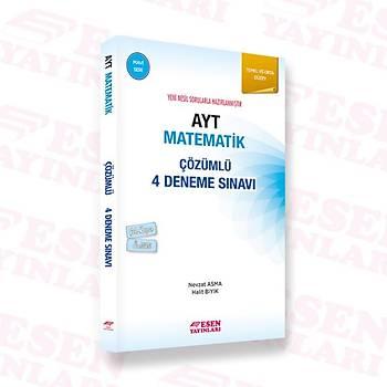 Ayt Matematik Çözümlü 4 Deneme Sýnavý-Mavi Seri