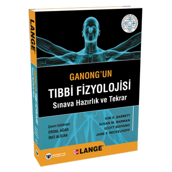 Güneþ Kitabevi   Ganong'un Týbbi Fizyolojisi Sýnava Hazýrlýk ve Tekrar