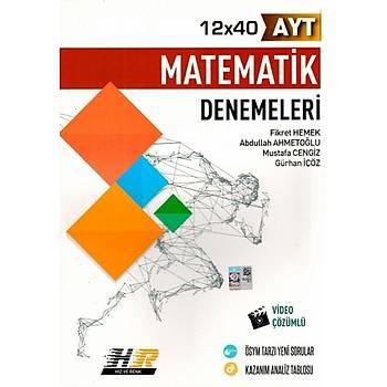 Hýz ve Renk Yayýnlarý AYT Matematik 12x40 Denemeleri
