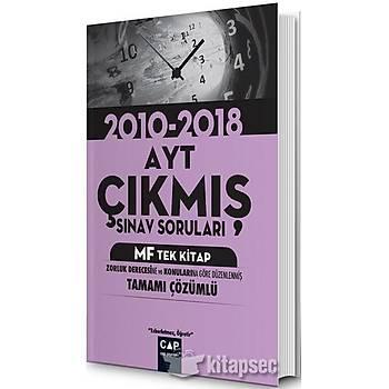 AYT MF Tek Kitap Çýkmýþ Sýnav Sorularý Çap Yayýnlarý