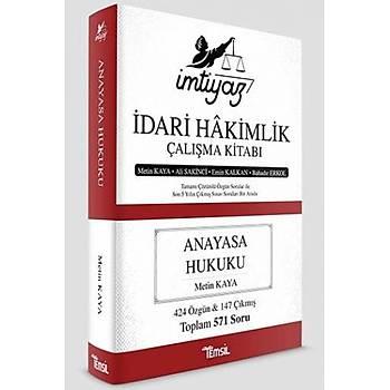 Temsil Kitap  Ýmtiyaz Ýdari Hakimlik Çalýþma Kitabý Anayasa Hukuku Metin Kaya, Ali Sakinci, Emin Kalkan