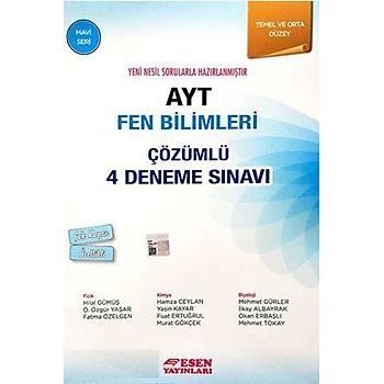 Ayt Fen Bilimleri Çözümlü 4 Deneme Sýnavý-Mavi Seri