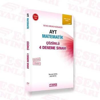 Ayt Matematik Çözümlü 4 Deneme Sýnavý - Kýrmýzý Seri